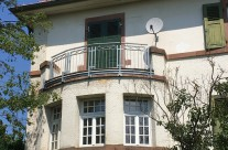Sanierung des Pfarrhauses in Kleinkarlbach ( Pfalz)